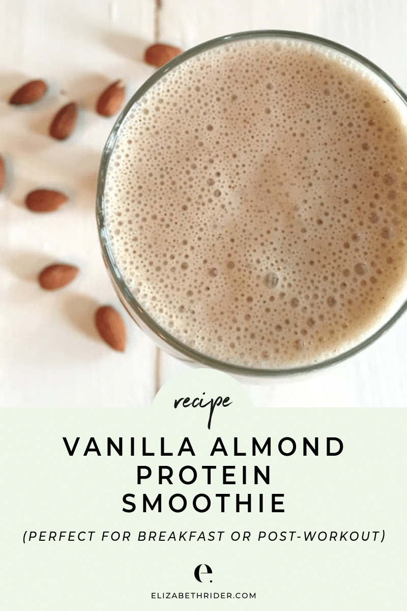 VANILLA ALMOND PROTEIN SMOOTHIE