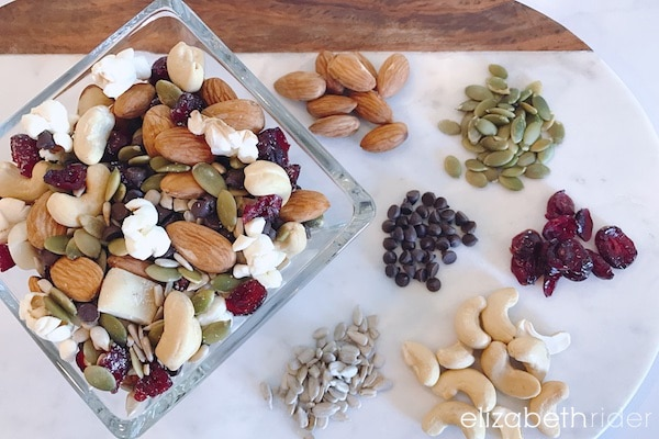 Healthy Trail Mix Recipe Elizabeth Rider 1