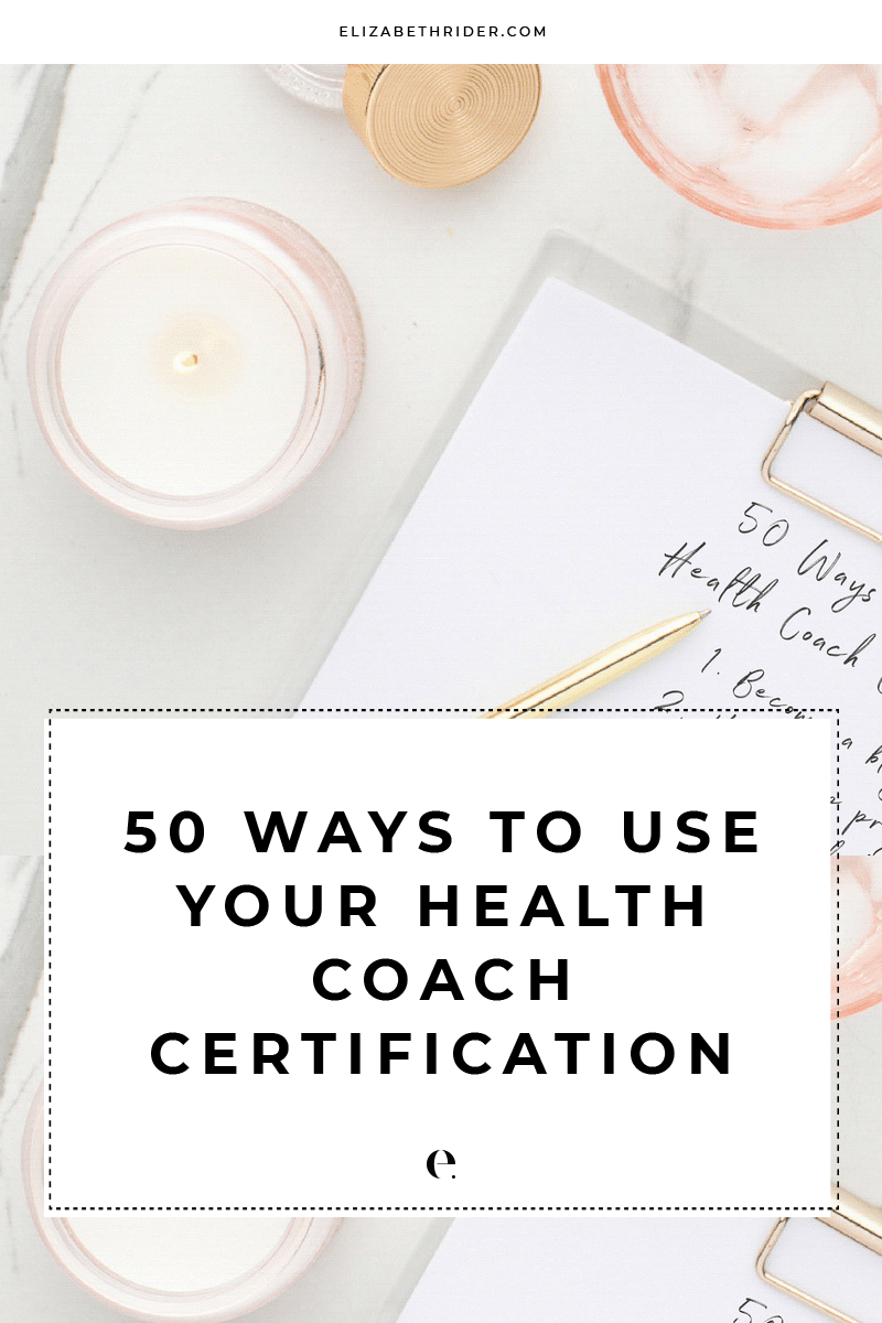 50-ways-to-use-your-health-coach-certification