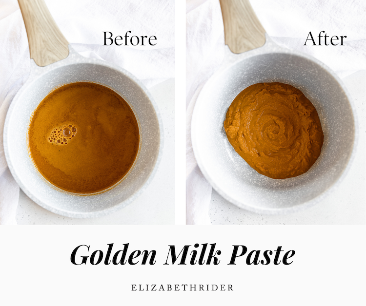 How to Make Golden Milk Paste