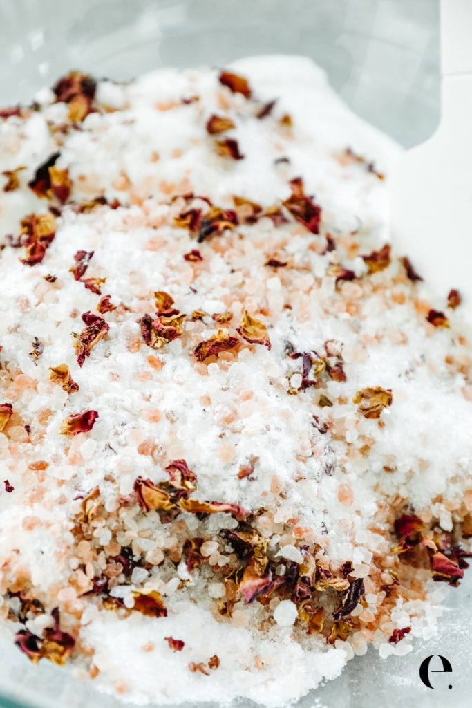 All Natural Homemade Bath Salts Elizabeth Rider