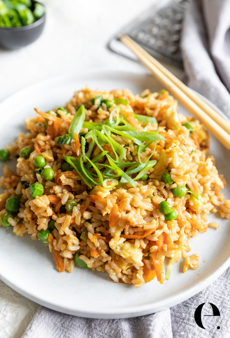 healthy fried rice elizabeth rider recipe