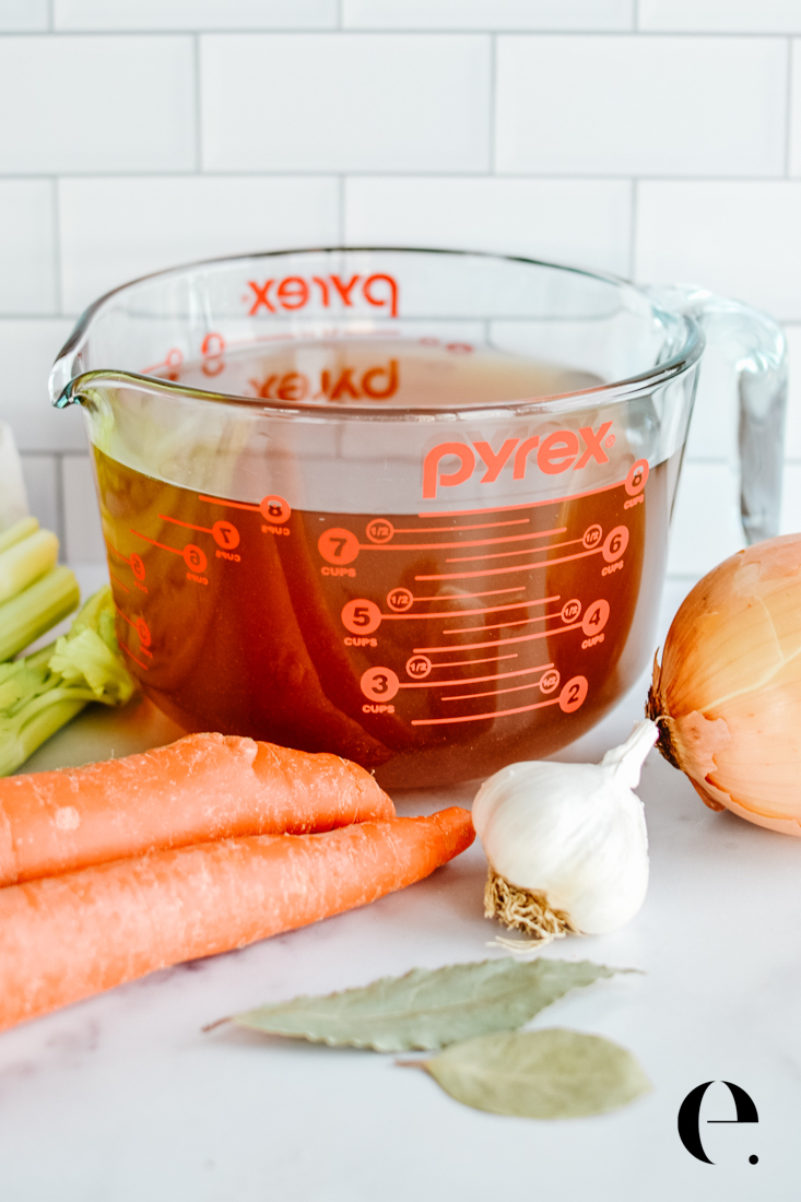 Vegetable Stock from Scraps