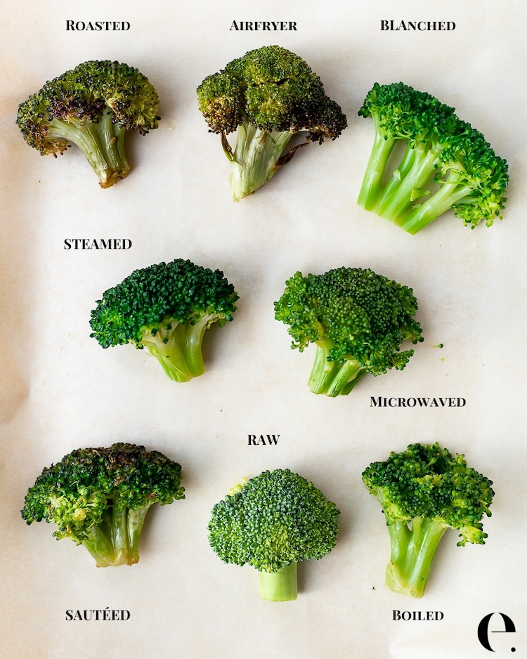 How to Cook Broccoli 7 Ways